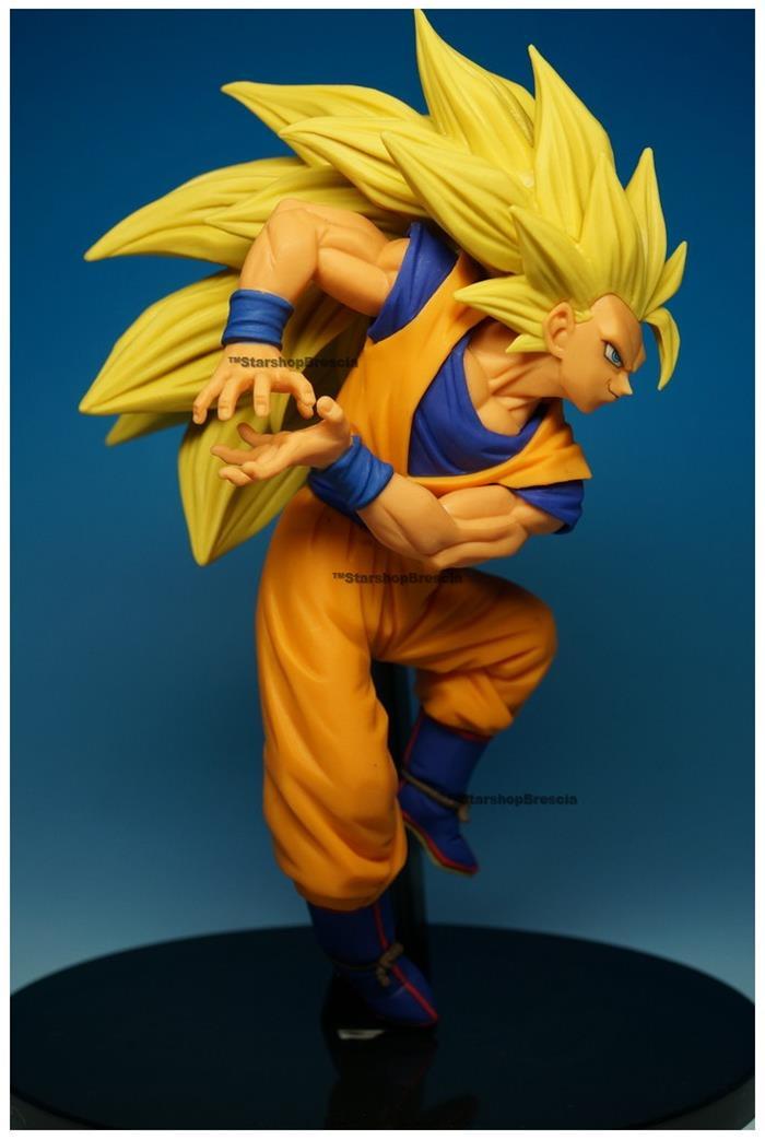 Dragon ball scultures 6 vol 6 son goku super saiyan 3 dx pvc figure banpresto ebay - Sangohan super saiyan 3 ...