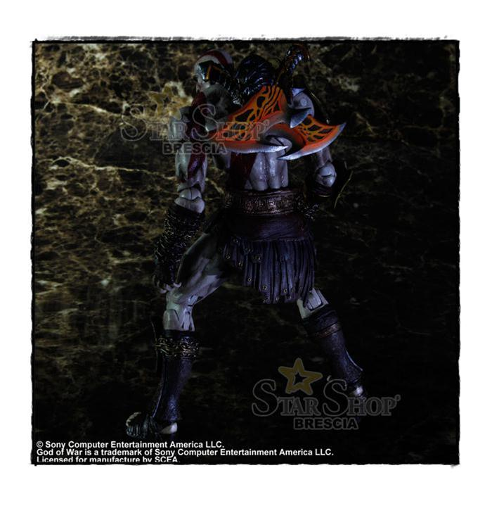 God of war 3 kratos play arts kai action figure square enix for Soluzione giardini superiori god war 3