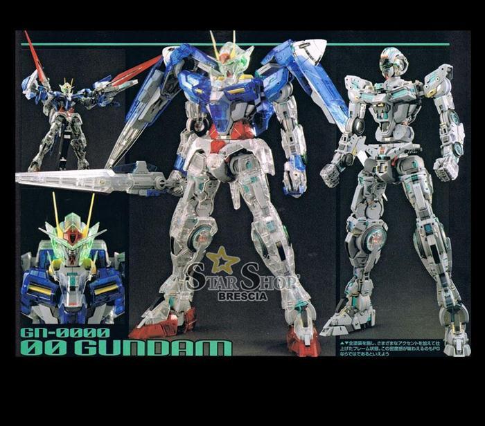 GUNDAM - 1/60 Gundam 00 Raiser Perfect Grade Clear Body ...