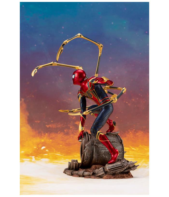 "Marvel Kotobukiya Avengers Infinity War Iron Spider Model Kit 1//10 NB 7/"" Artfx"