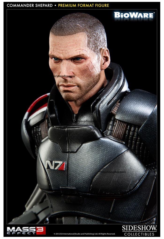 MASS EFFECT - Commander Shepard Premium Format Figure 1/4 ...