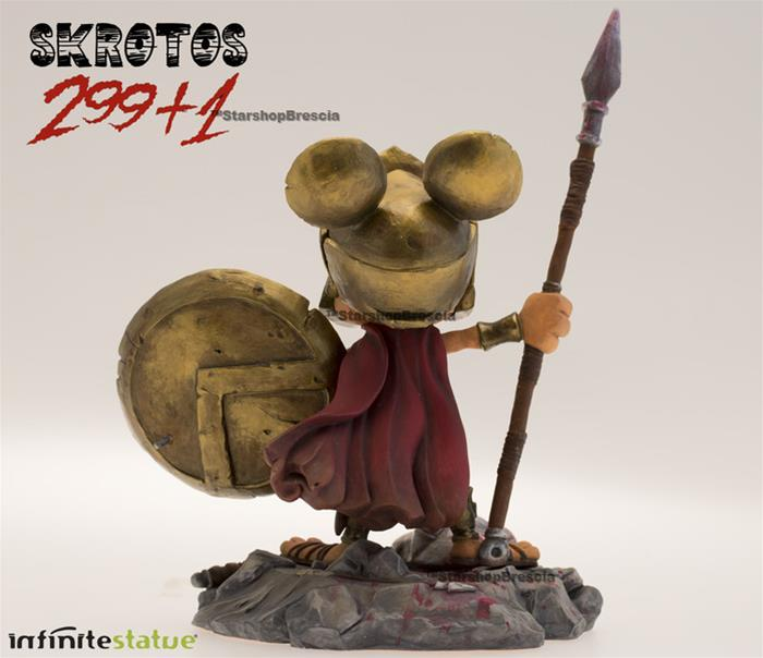 Rat-Man 299+1 Infinite Collection 5 Skrotos Parodia 300 Statue Ratman Ortolani