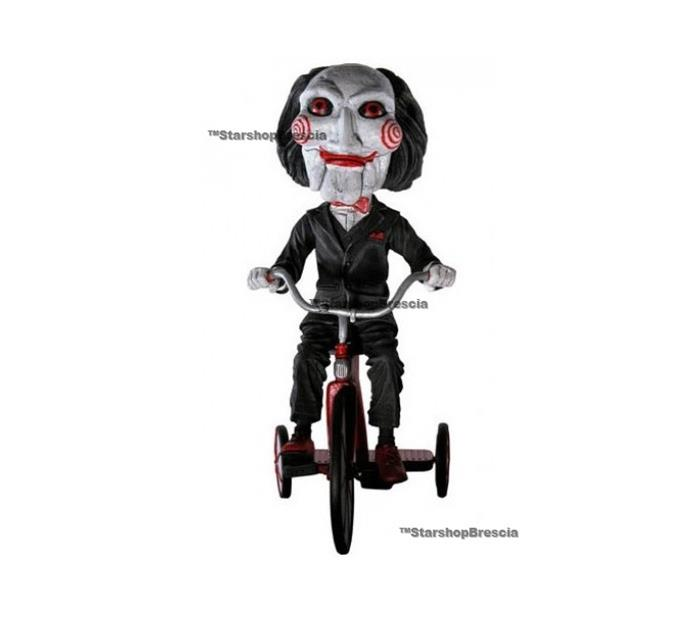 Jigsaw Killer Puppet And Tricycle Head Knocker