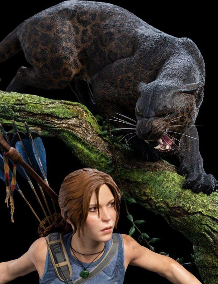 Shadow of the Tomb Raider Ultimate Edition Lara Croft Tombeaux Statue ** seulement **