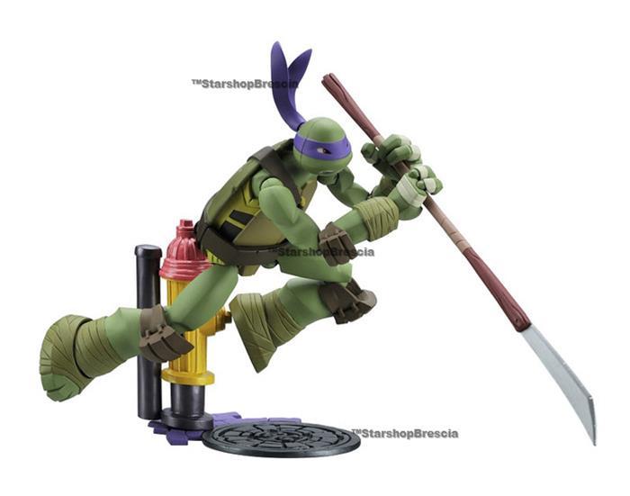TMNT - Ninja Turtles Revoltech - Donatello Action Figure ...