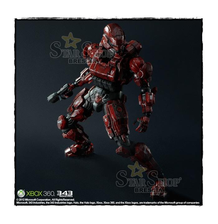 Halo 4 Play Arts Kai Spartan Soldier Action Figure