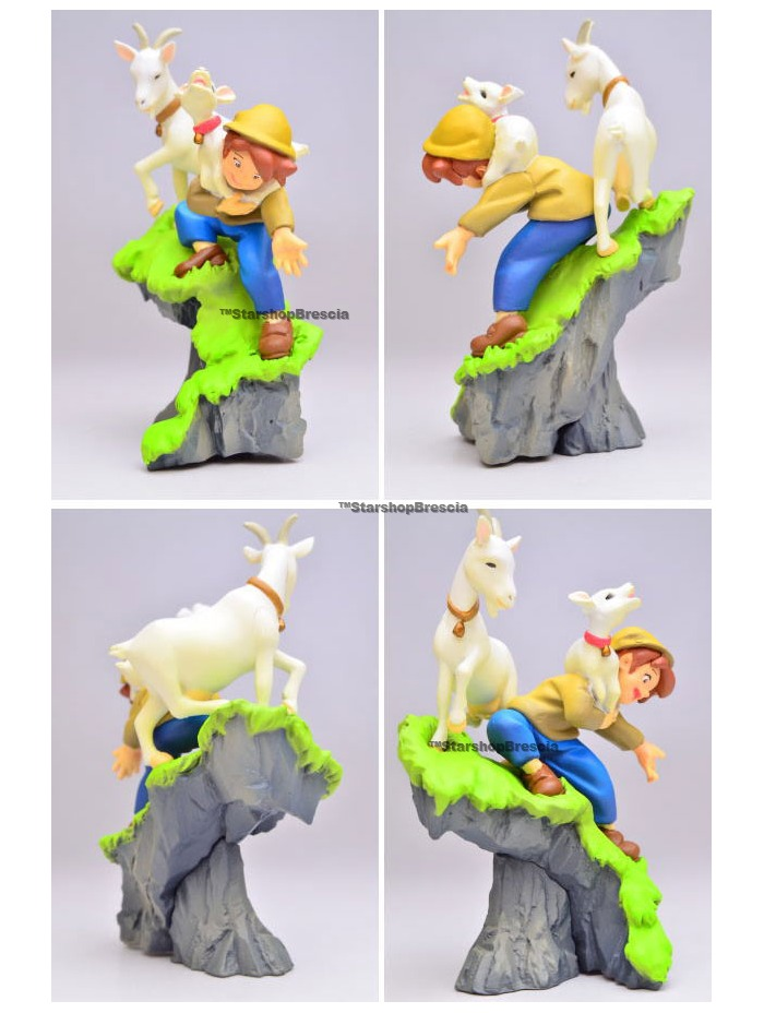 ALPS NO HEIDI Heidi /& Peter Mini Figure Kaiyodo 40th Anniversary