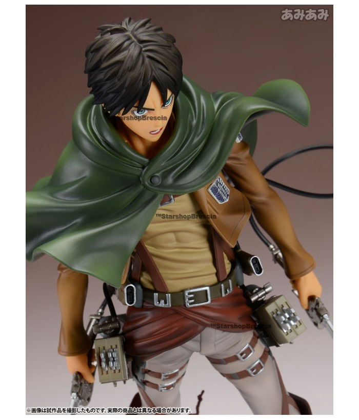 Attack On Titan Eren Yeager Brave Act 1 8 Pvc Figure