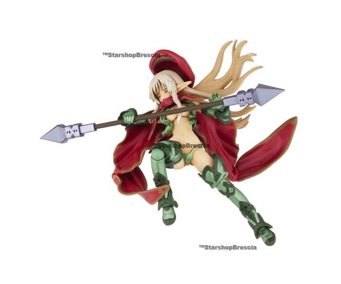 QUEEN/'S BLADE Legacy Revoltech N.019 Alleyne Action Figure Kaiyodo