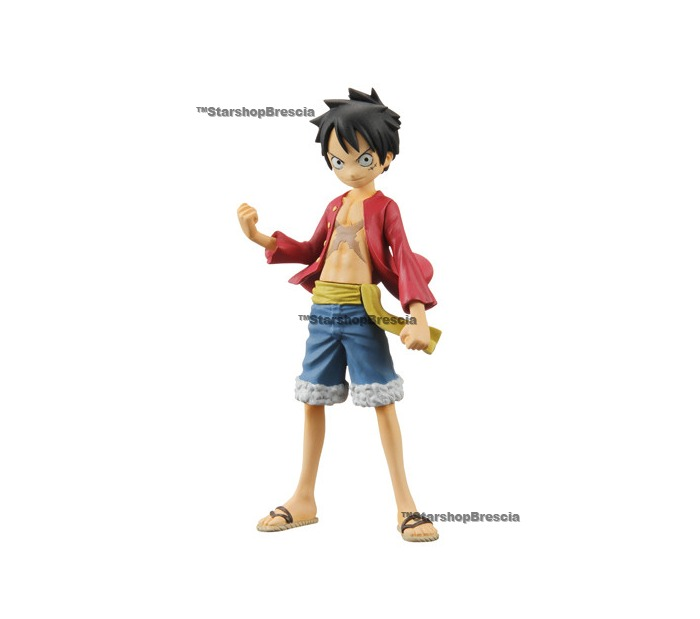 One Piece Half Age Characters Vol 1 Monkey D Luffy Mini Figure
