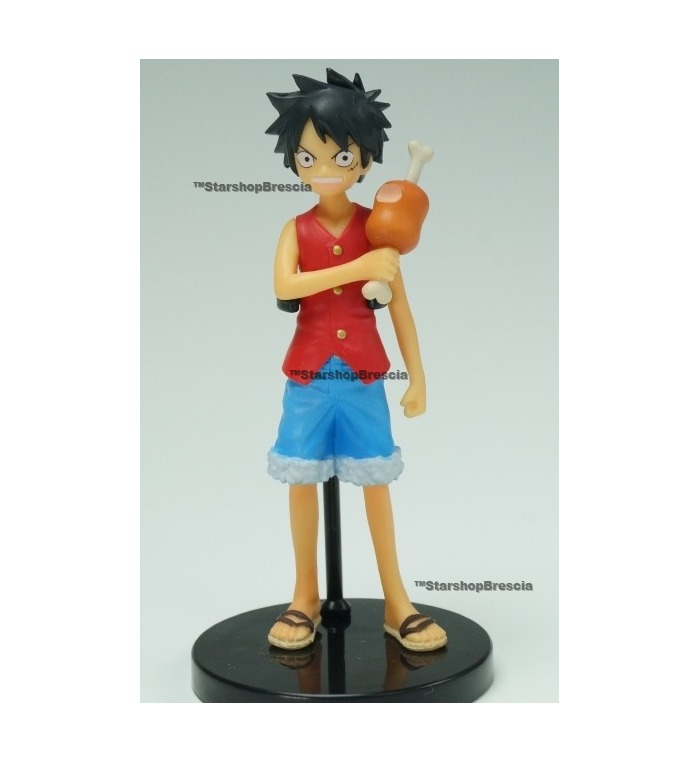 One Piece Half Age Characters Promise Of The Straw Hat Monkey D Luffy Secret Ver Mini Figure