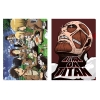 ATTACK ON TITAN - Clear files & Clips Set D Ichiban Kuji