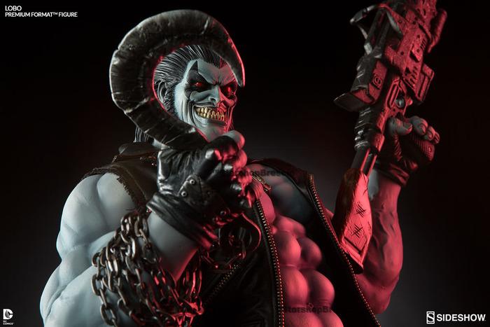 Lobo Premium Format 1//4 Statue DC Comics Universe Sideshow