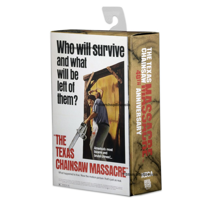 """Official NECA Texas Chainsaw Massacre Ultimate Leatherface 7/"""" Action Figure"""