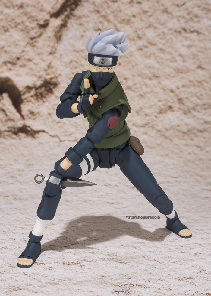 NARUTO Kakashi Hatake S.H Figuarts Action Figure Tamashii Exclusive Bandai