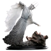 LORD OF THE RINGS - The Witch King & Frodo at Weathertop 1/6 Polystone Statue