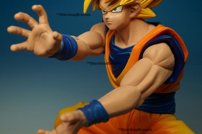 Goku Super Saiyan Banpresto 2 DRAGON BALL DX Figure Dramatic Showcase 1st Vol