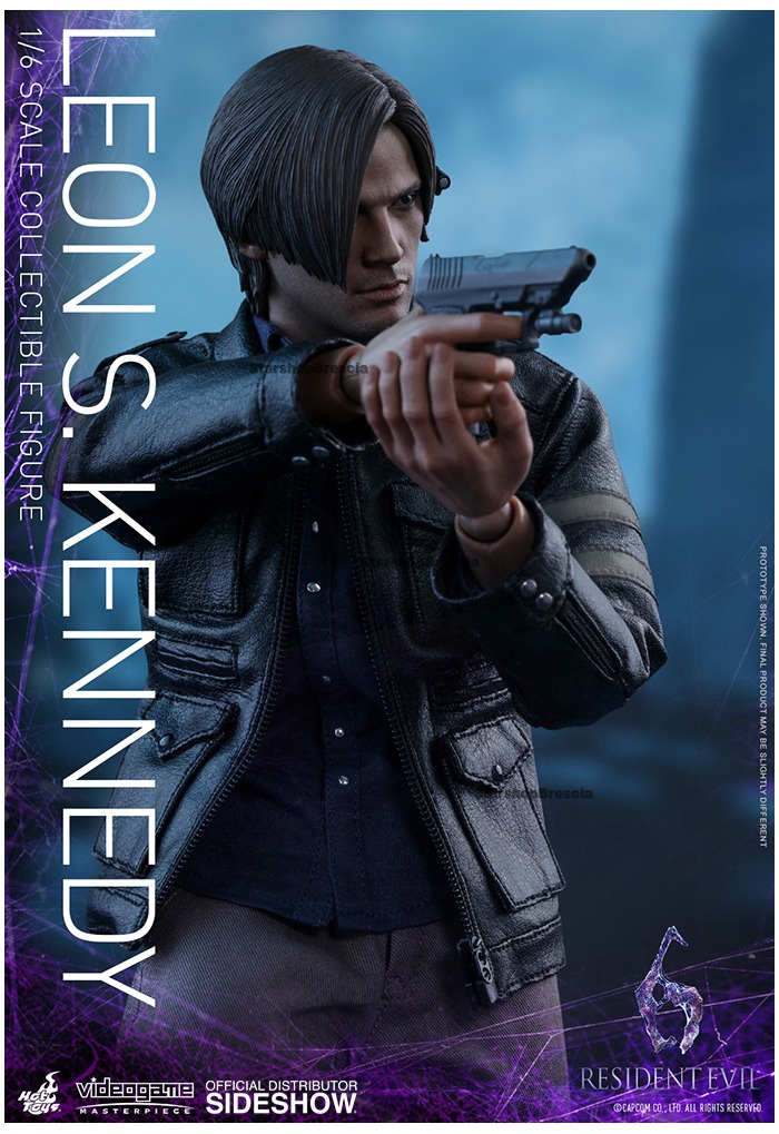 KENNEDY Figure 1//6th Scale WING SHOOTER Hot Toys VGM22 Resident Evil 6 LEON S