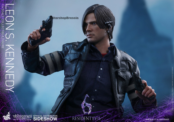 Leon S Kennedy Collectible Figure Hot Toys 1 6 12 Vgm22