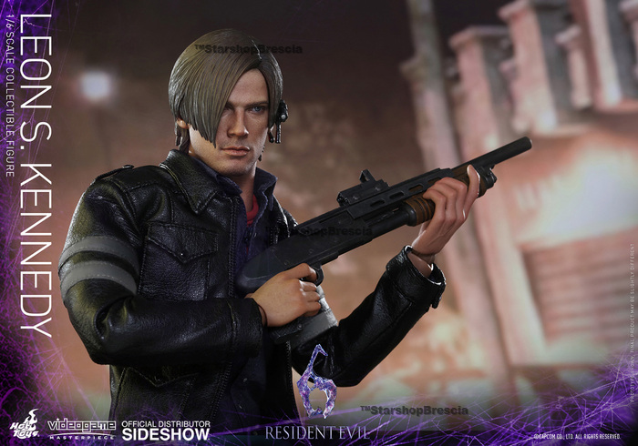 Resident Evil 6 Leon S Kennedy Videogame Masterpiece 1 6