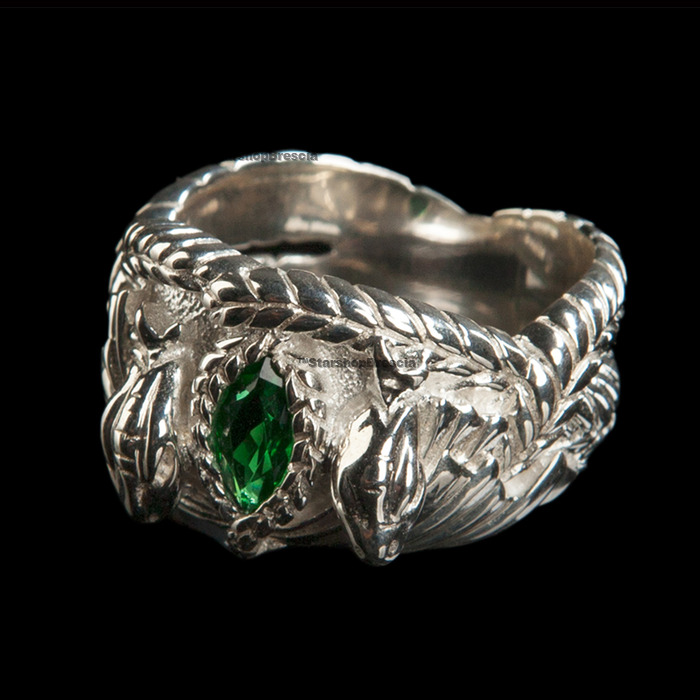 lord of the rings the ring of aragorn sterling silver