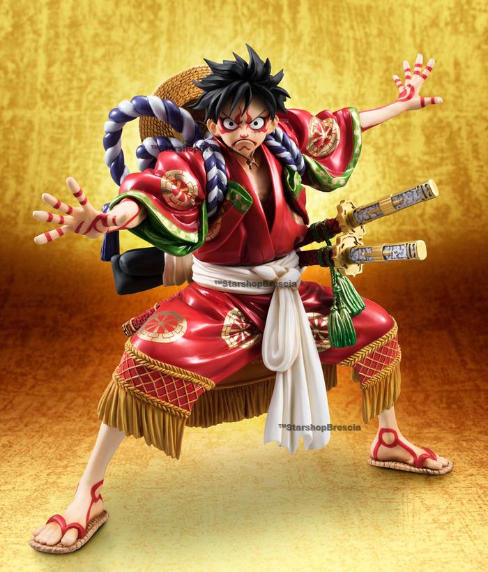 One Piece Monkey D Luffy Kabuki Limited Edition 1 8 Pvc Figure P O P