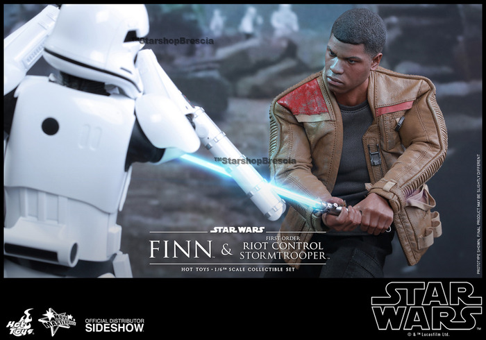 "HOT TOYS Star Wars Episode VII Force Awakens FINN 12/"" 1//6 Scale Figure Sideshow"