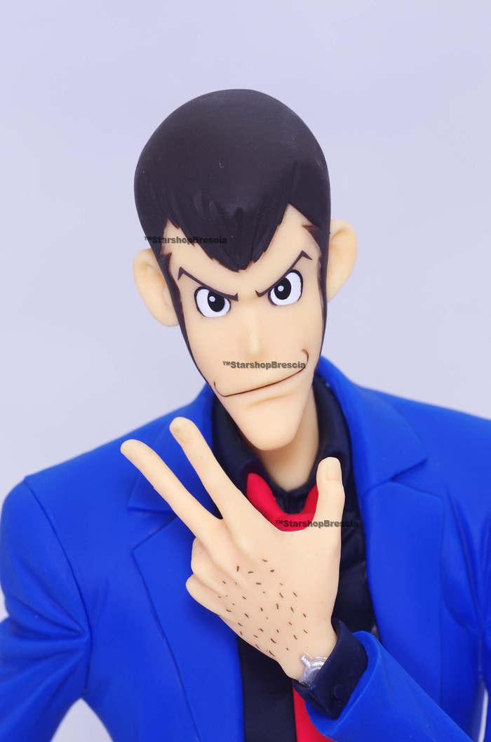 Lupin The 3rd Master Stars Piece Lupin 2 PVC Figure BANPRESTO