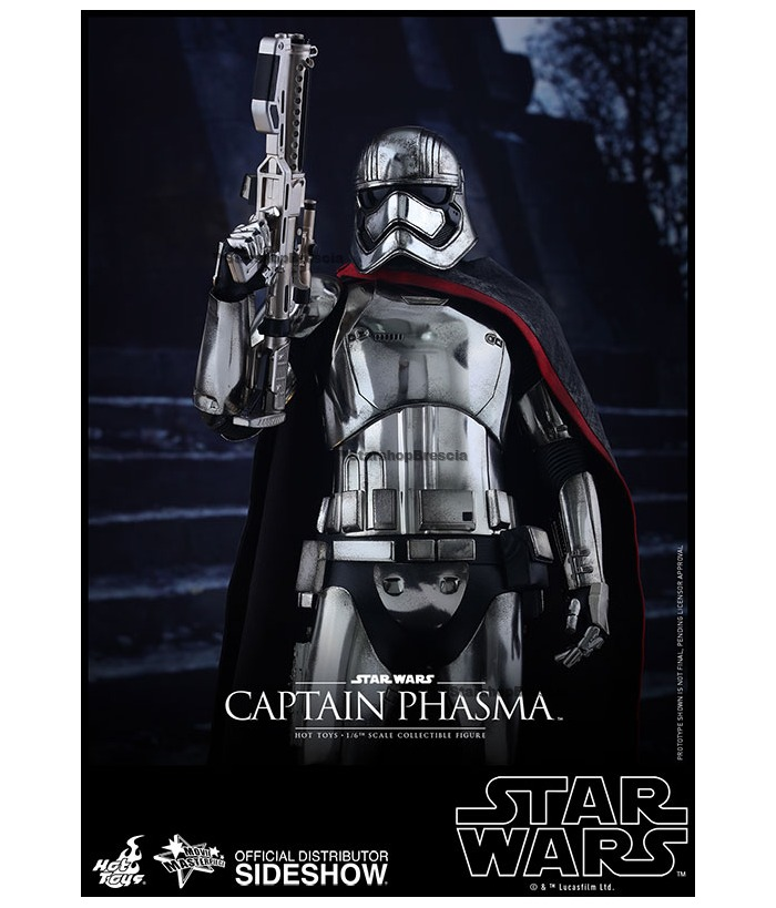 Hot Toys Star Wars 1//6 Captain Phasma Action Figure MMS328 NEW