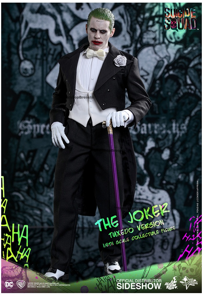 Hot Toys MMS395 Suicide Squad The Joker Tuxedo 1//6 Joker Stand