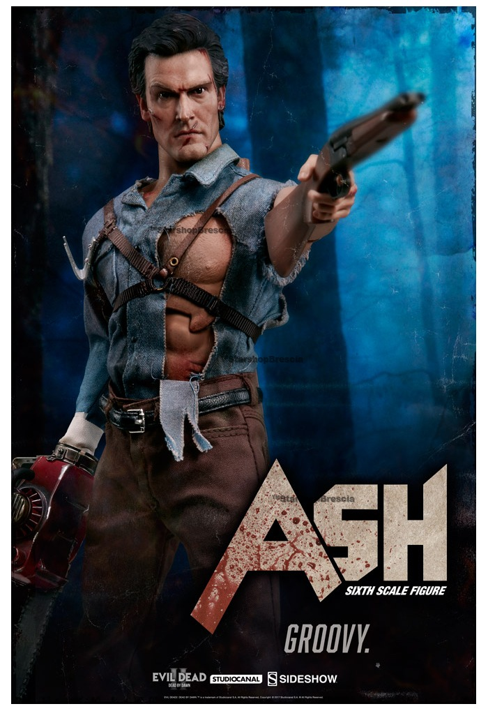 Evil Dead 2 Ash Williams 1//6th Scale Action Figure
