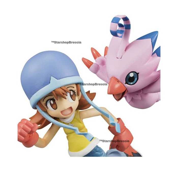 DIGIMON - Sora & Piyomon 1/10 Pvc Figure G.E.M.