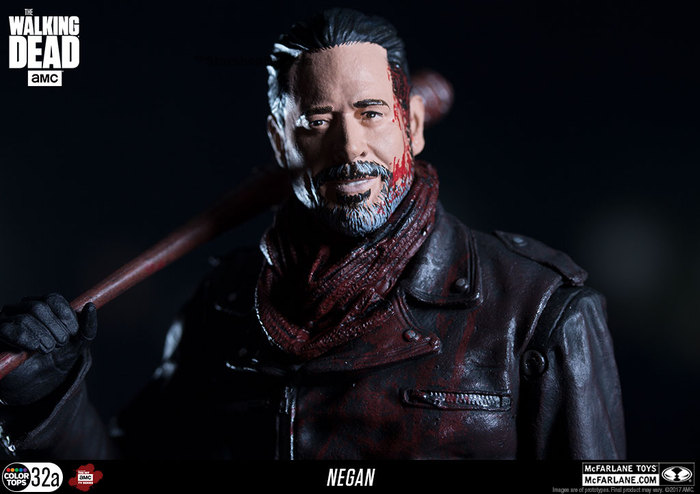 Bloody Version McFarlane Negan Action Figure The Walking Dead