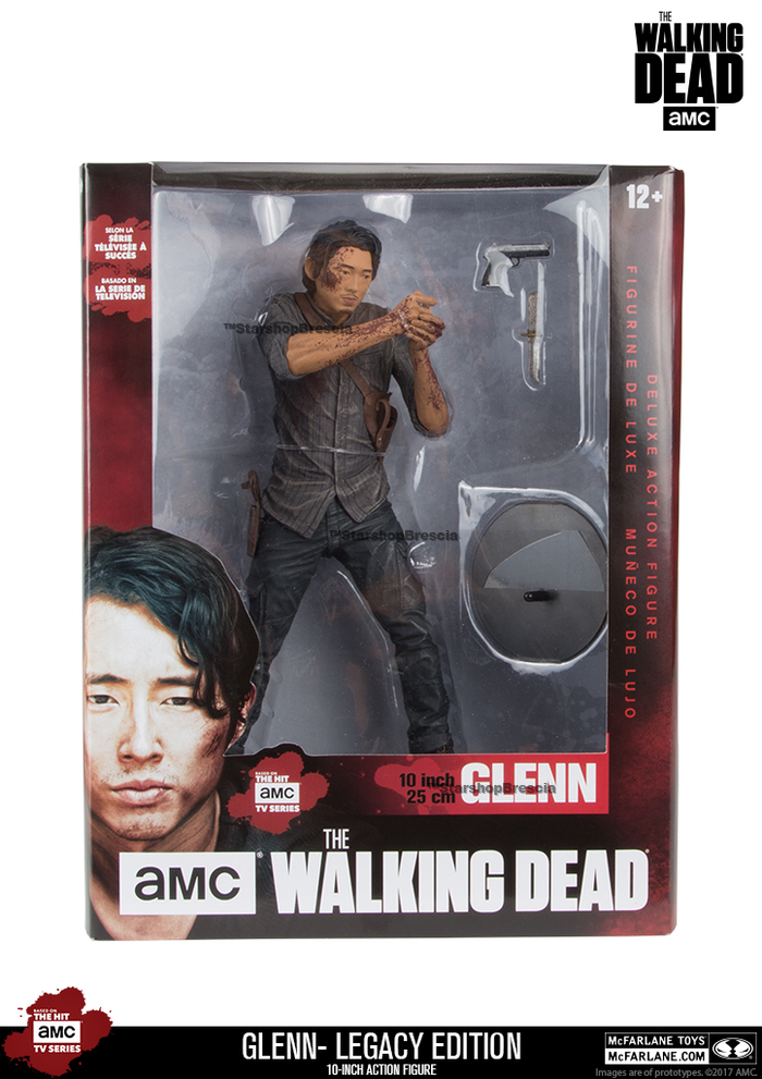 "WALKING DEAD TV - Glenn Legacy Edition 10"" Deluxe Action Figure"