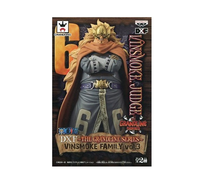 ONE PIECE DX Figure The Grandline Men Vinsmoke Family Vol.3 Judge Banpresto