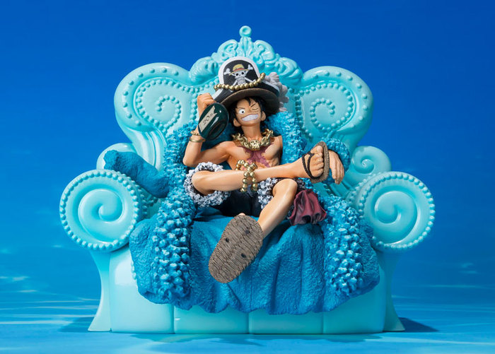 ONE PIECE - Figuarts ZERO Monkey D. Luffy 20th Anniversary Edition Static Figure
