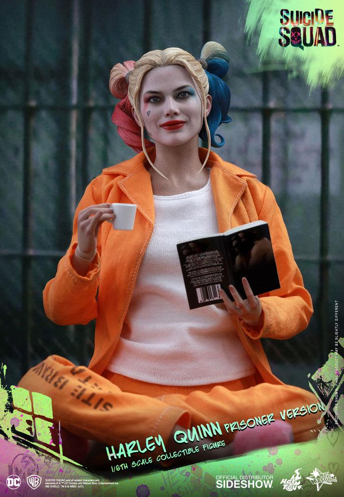 Hot Toys - MMS407 - Suicide Squad - Harley Quinn (Prisoner