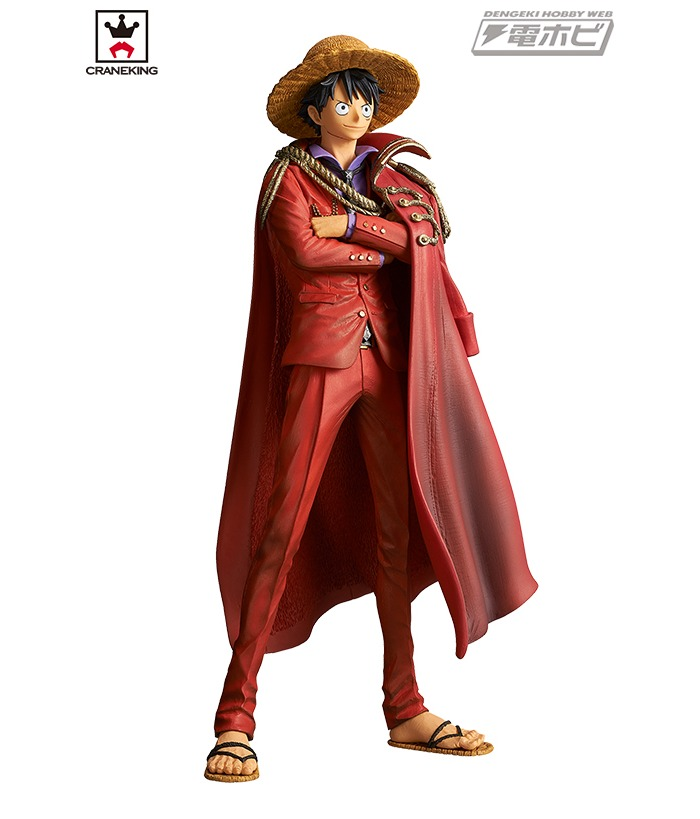 One Piece King Of Artist The Monkey D Luffy 20th Anniversary Ver Pvc Figure