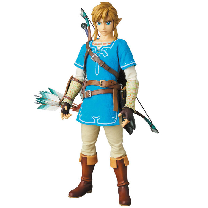 Legend Of Zelda Breath Of The Wild Link 1 6 Action Figure 12 Rah N 764