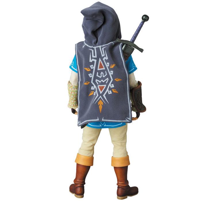 Legend Of Zelda Breath Of The Wild Link 1 6 Action Figure 12 Rah N 764