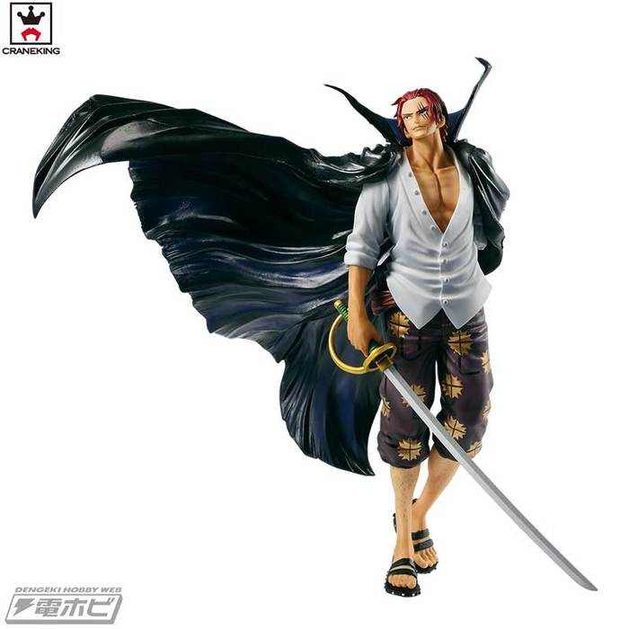 ONE PIECE - SCultures World 2 Red Haired Shanks Pvc Figure