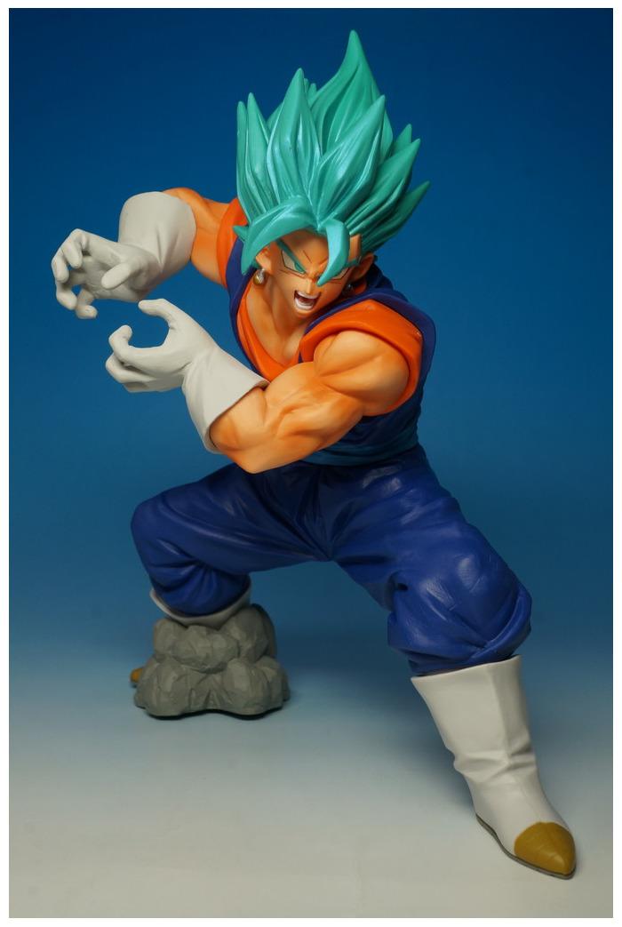 DRAGON BALL - Super - Final Kamehameha Vegetto Super Saiyan God Super  Saiyan Pvc Figure