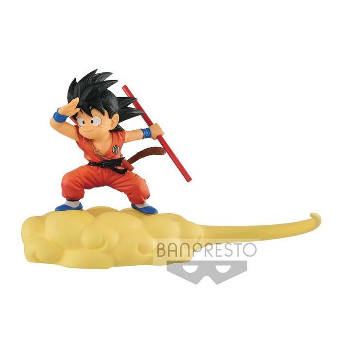 DRAGON BALL Son Goku on the Speedy Cloud Normal Color Pvc Figure Banpresto