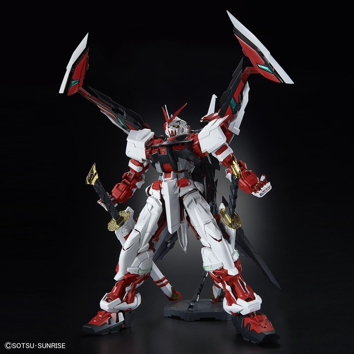 GUNDAM - 1/60 Astray Red Frame Kai Perfect Grade Model Kit PG Exclusive