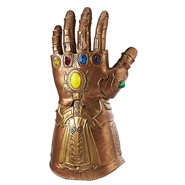 Thanos Articulated Electronic Fist Infinity Gauntlet 1//1 Replica Hasbro MARVEL