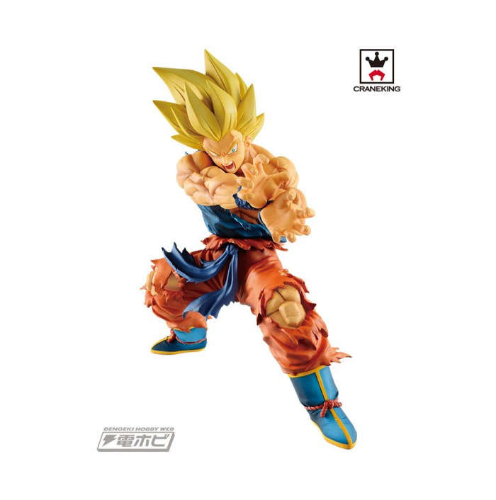 DRAGON BALL - Legends Collab - Son Goku SSJ Kamehameha Pvc Figure