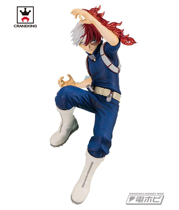 MY HERO ACADEMIA - The Amazing Heroes Vol.2 - Shoto Todoroki Pvc Figure