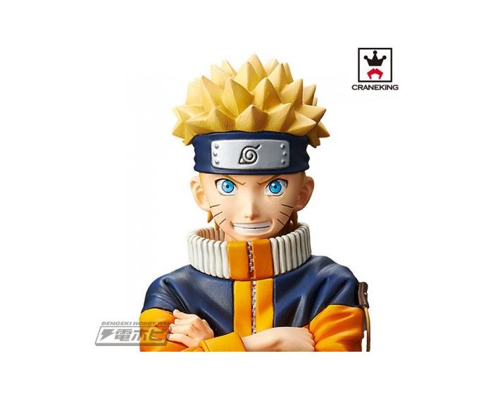 Grandista Shinobi Relations Naruto Uzumaki 2 DX Pvc Figure Banpresto NARUTO
