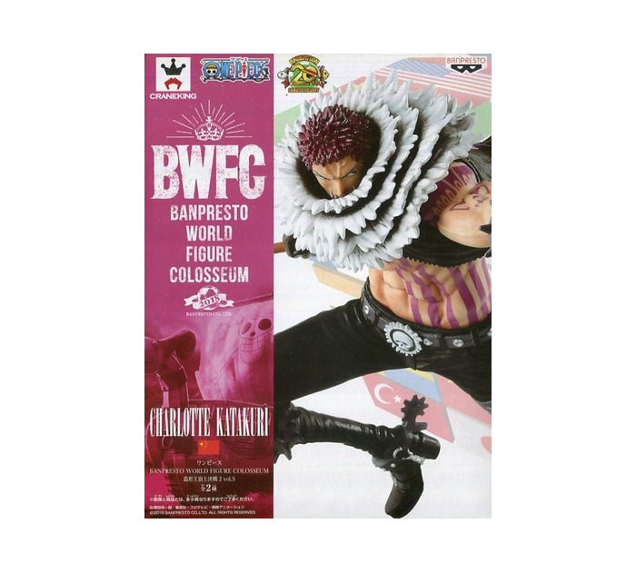 ONE PIECE - SCultures World 2018 Vol.5 Charlotte Katakuri Pvc Figure