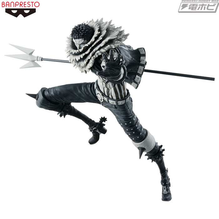 ONE PIECE - SCultures World 2018 Vol.5 Charlotte Katakuri Special Color Ver. Pvc Figure